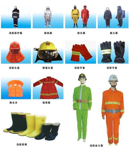 消防服装备